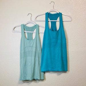2 Lululemon Swiftly Tank Tops